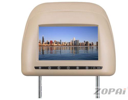 头枕包式显示器:ZP-7698AV