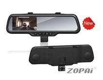 后视镜行车记录仪:ZP-DV08