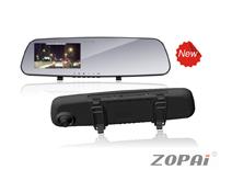 后视镜行车记录仪:ZP-DV06