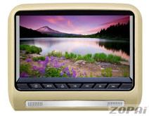 超薄挂式包皮头枕式显示器:ZP-9799AV